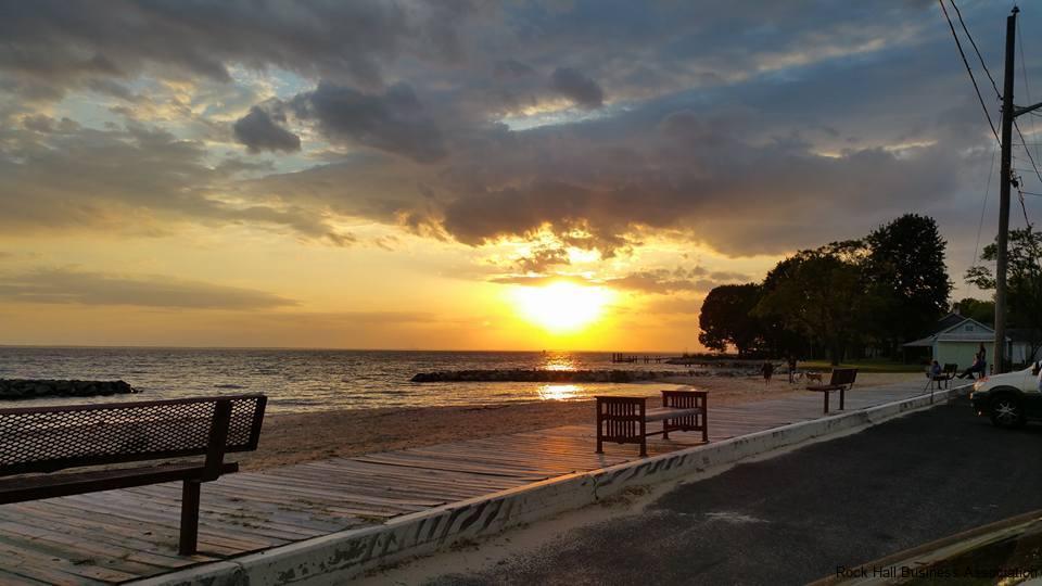 Rock-Hall-Beach-Sunset-2